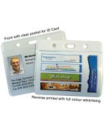 Printed ID Card Holders LANDSCAPE