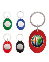 Carro Shopper Trolley Coin Keyring