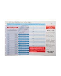 Contractor Pass Refills Full Colour - Customised