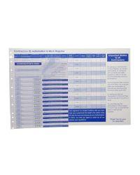 Contractor Pass Refills - Stock