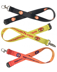 Full Colour Silky Lanyards