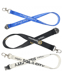 Polyester Lanyards - Screen Printed