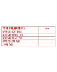Tyre Tread Stamp (67mmx27mm)