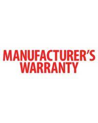Manufacturer's Warranty Stamp  (57x21mm)