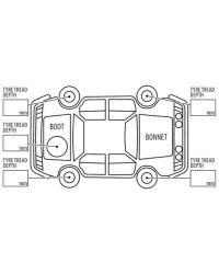 Vehicle Condition Stamp (73mmx35mm)