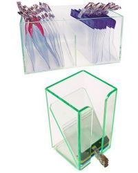 Storage Tower for Plastic Wallets