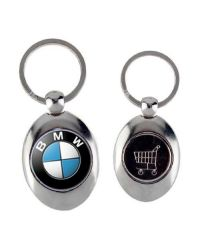 Montana Shopper Trolley Coin Keyring