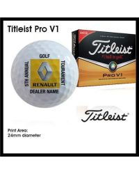 Printed Golf Balls - Full Colour - Titleist Pro V1