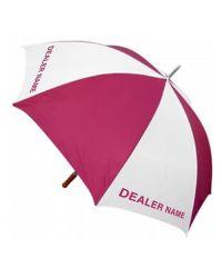 Quantum Golf Umbrella Printed one colour