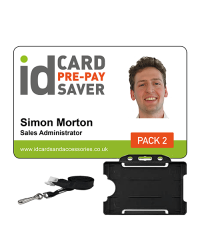Staff ID Cards - Supersaver Prepay 2 - Cards, Holders & Plain Lanyards