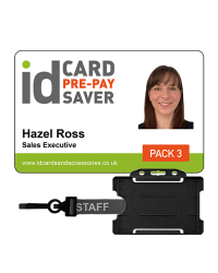 Staff ID Cards - Supersaver Prepay 3 - Cards, Holders & STAFF Lanyards