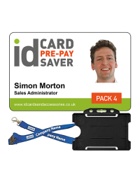 Staff ID Cards - Supersaver Prepay 4 - Cards, Holders & Bespoke Lanyards