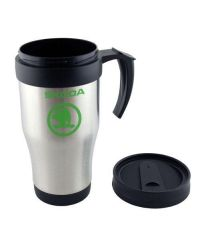 Stainless Steel Travel Mug, 14oz - Printed one colour