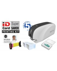 ID Card Printer With Software - Supersaver Starter Kit