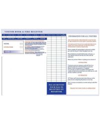 Visitor & Contractor Book Express REFILLS