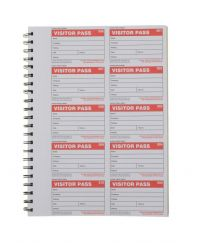 Economy Visitor Book Passes - Pack of 300 passes