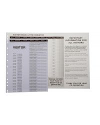 Visitor Passes - Pack of 100 passes