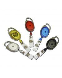 Badge Reel Carabiner Premier - Pack of 100