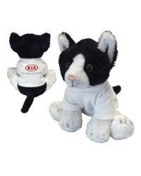 Yomiko Sitting Black & White Cat - Small 5''
