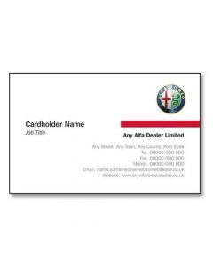 Alfa Romeo Business Cards