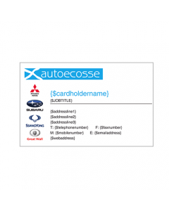 Autoecosse Business Cards - Moifieth