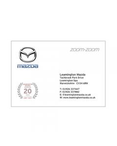 **Mazda Business Cards - Leamington**