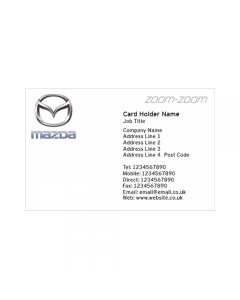 **Mazda Business Cards - Pentraeth Automotive**