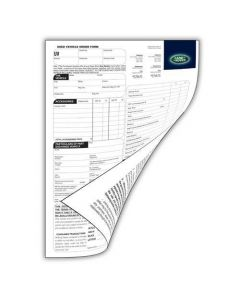 Used Vehicle Order Forms