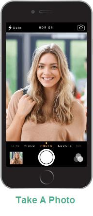 Take a photo Easybadge ID Software
