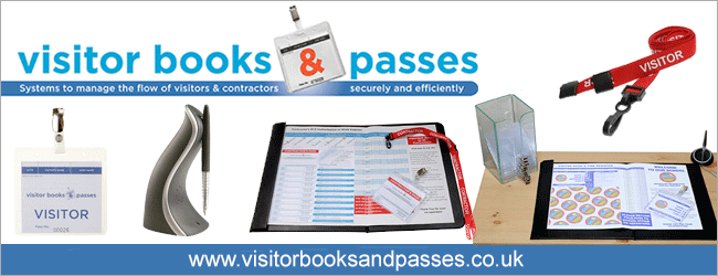 Visitor Books & Passes - Visitor Management
